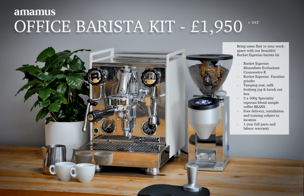 Barista machine package
