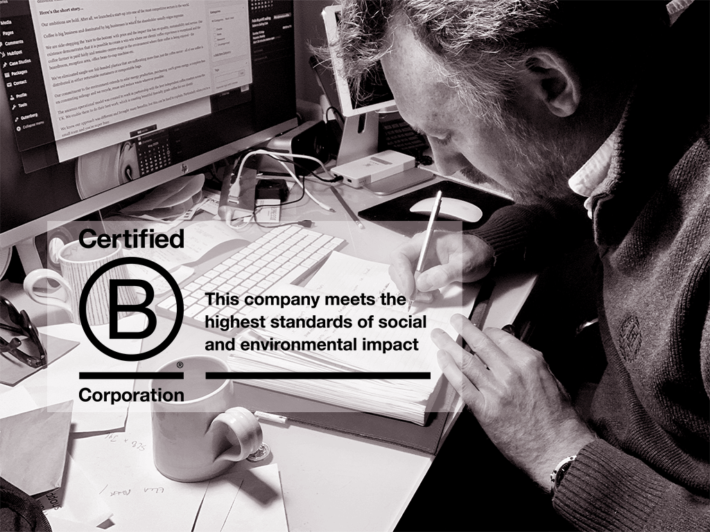 Working towards B-Corp